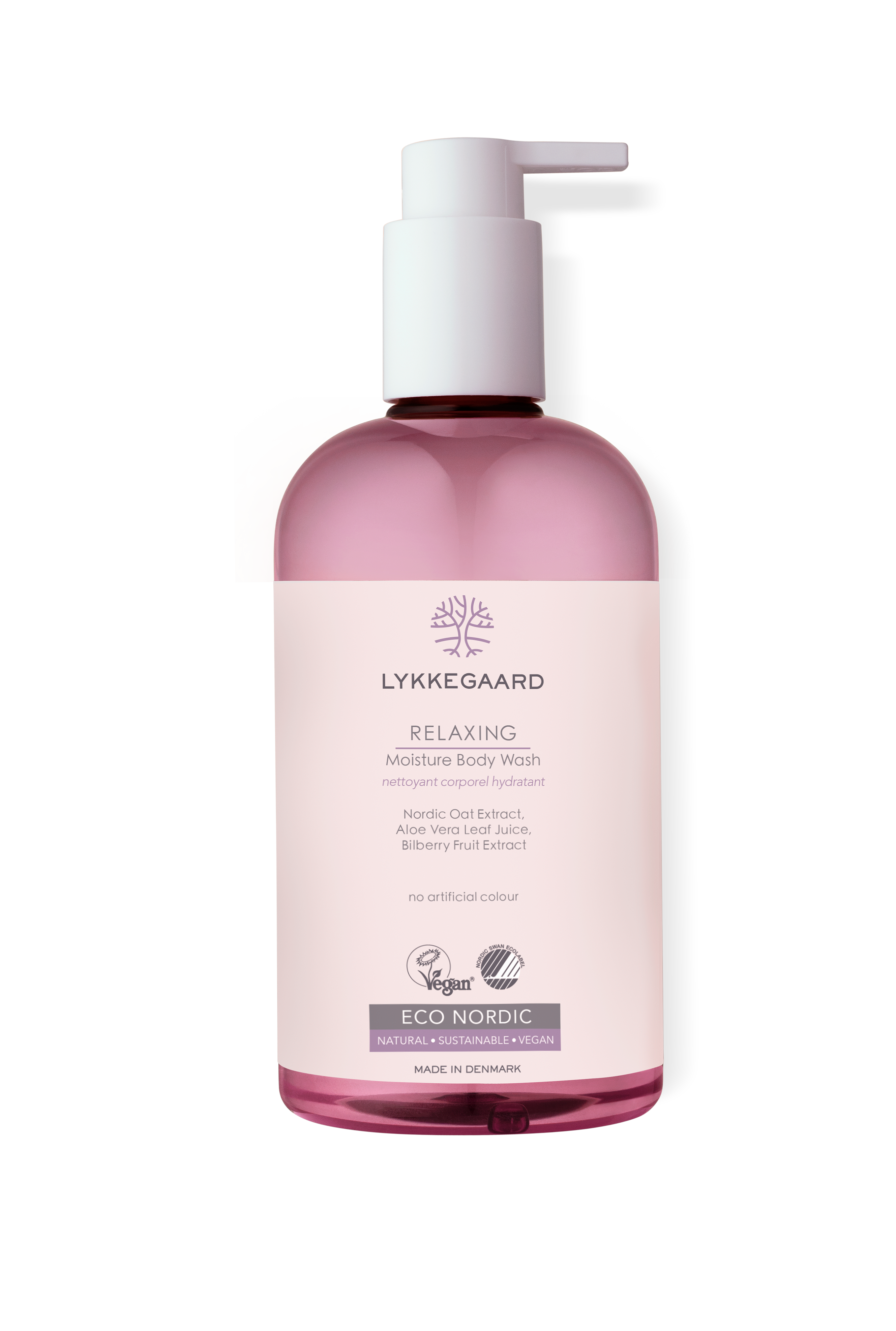 lykkegaard care relaxing moisture body wash