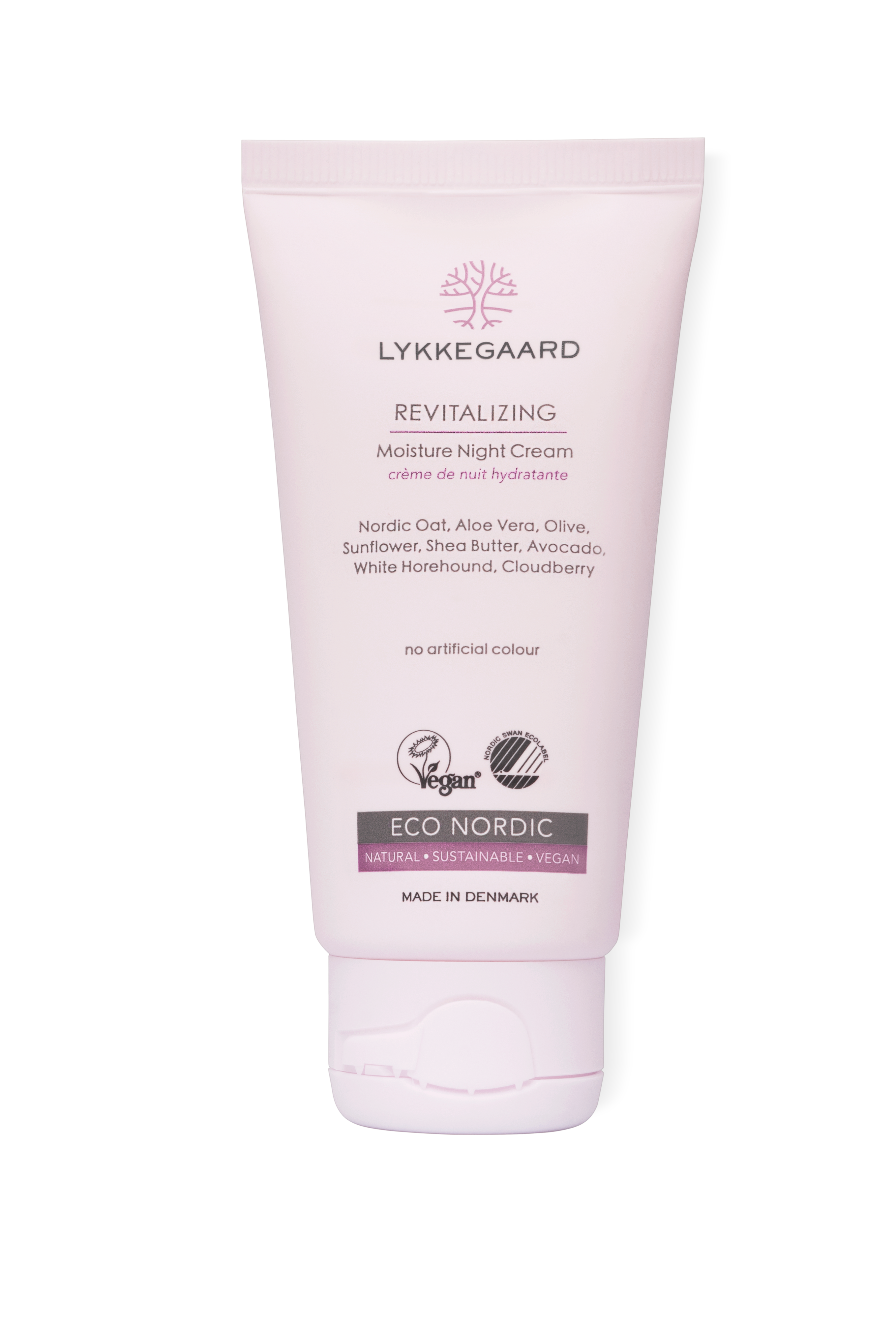 lykkegaard care revitalizing moisture night cream